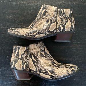 Sam Edelman snake booties